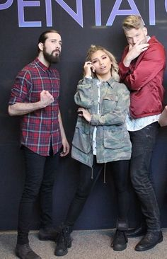 Avi, Kirstin, and Scott