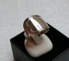 Nostalgischer Besteckschmuck-Ring 18,5 mm SR522 von Atelier Regina auf DaWanda.com