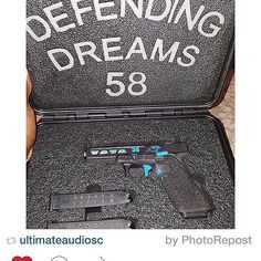 Pelican case with custom foam for a Glock Pelican Case, Gun Cases, Custom Guns, Edc Everyday Carry, Weapons, Weapons Guns, Guns, Weapon, Gun
