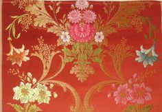 """Ramon"" manual silk fabric from Garin company (Valencia, Spain)"