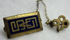 $1.99  -  Vintage Greek Pin - 1928 - Sorority Pin - Fraternity Pin - vintage college pin
