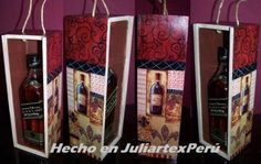 Portavino pintado en JuliartexPerú