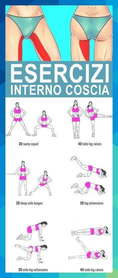 Inner leg workout … Internal leg workout for the home or fitness, … - charisma. Inner Leg Workouts, Easy Workouts, At Home Workouts, Body Weight, Weight Loss, Weight Gain, Weight Control, Workout Bauch, Leg Raises