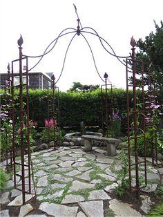 Love this metal gazebo http://gazebokings.com/luxury-metal-framed-garden-party-gazebos/ http://gazebokings.com/gazebo-kits/