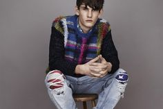 James Long   Capsule Knitwear Collection for Topman