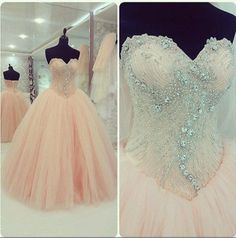 New 2015 Quinceanera Dresses Formal Prom Party Pageant Ball Dresses Bridal Gowns #Unbranded #BallGown #Formal