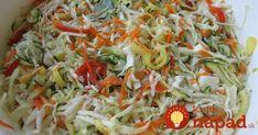 BEZ ČAKANIA: Blesková čalamáda, na ktorej si môžete pochutnávať hneď! Slovak Recipes, Clean Recipes, Clean Foods, Catering, Cabbage, Food And Drink, Homemade, Vegetables, Ethnic Recipes