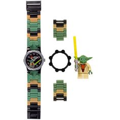 LEGO Yoda Kid's Watch, $21, now featured on Fab.