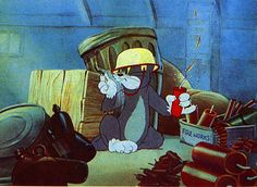 """Tom and Jerry """"Yankee Doodle Mouse"""""""