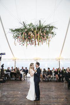 Margot & Justin's Romantic Outdoor Wedding - Flora Nova Design - Premier Event Design Studio in Seattle Dance Floor Wedding, Tent Wedding, Dream Wedding, Wedding Dancing, Fall Wedding Flowers, Autumn Wedding, Hanging Tent, Lakeside Wedding, Wedding Advice