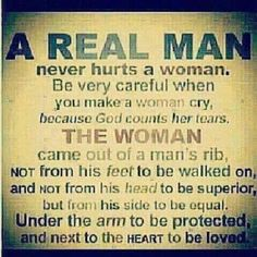 Too True...Some men need to learn this!