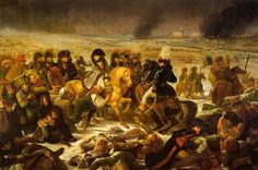 Napoléon visitant les blessés après la bataille d'Eylau (8 février 1807) par le baron Antoine Jean Gros