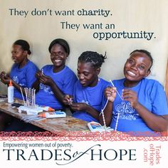 fair trade is not charity