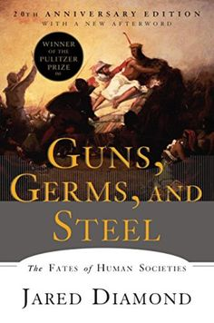 Guns, Germs and Steel: The Fates of Human Societies by Jared Diamond, a nonfiction book worth adding to your reading bucket list. This Is A Book, Up Book, Book Club Books, Book Lists, Books To Read, Book Nerd, Reading Lists, Book Cafe, Book Clubs