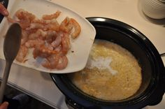 Slow Cooker Shrimp and Grits