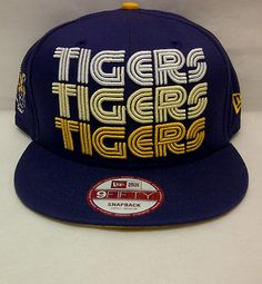 a909ffff018 DETROIT TIGERS NEW ERA 9FIFTY TRIPLE LOGO SNAPBACK  sm-med  FLAT BILL HAT  on eBay! Carly Silver · Hats  )