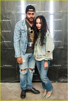 Zoe Kravitz & Boyfriend Twin Shadow Couple Up at Coachella 2016