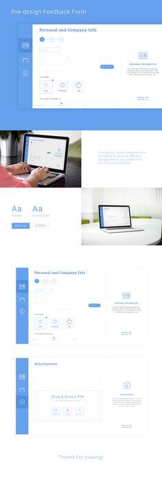"""Przejrzyj mój projekt w @Behance: """"Pre-Design feedback form"""" https://www.behance.net/gallery/47820631/Pre-Design-feedback-form"""