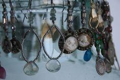 Earrings by Amy Hanna