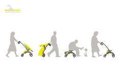 Stick 1/2 is a foldable stick for the elderly and disabled people ...