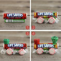diy life saver roll candy dolls | Christmas Crafts for Kids Lifesaver Candy Trains Reindeer Candy Canes