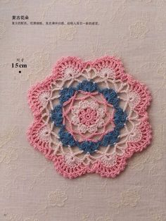 Crochet and arts: Round doily