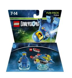 Lego Dimensions Fun Pack: Benny (Benny and Benny's Spaceship included)