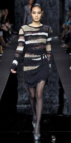 Runway Looks We Love: New York Fashion Week - Fall/Winter 2015 - Diane von Furstenberg #InStyle