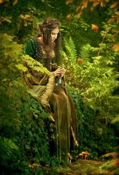 realistic wood elf elves An elven forest mage Fantasy World, Fantasy Art, Elfa, Elves And Fairies, Fantasy Photography, Dreamy Photography, Magical Creatures, Wiccan, Celtic Paganism