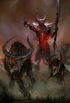 Evil Demons | ... is horrific, he is the demonic representation of blood, plague, evil
