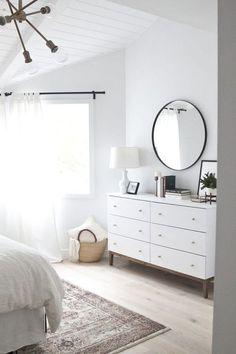 68 White Minimalist Master Bedroom Design And Decor Ideas