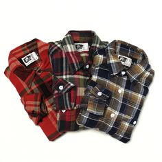 Engineered Garments / Work Shirt - Flannel Plaid