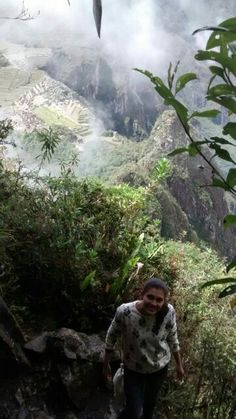 Siguiendo el camino    Machupichu ... Perú