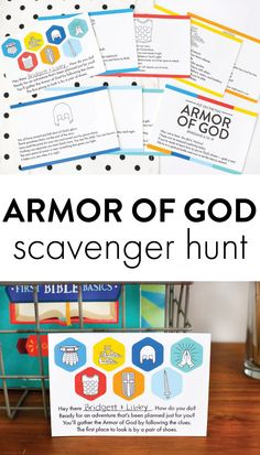Bible Study For Kids, Bible Lessons For Kids, Kids Bible, Primary Lessons, Sunday School Games, Sunday School Lessons, Church Activities, Bible Activities, Armor Of God Lesson
