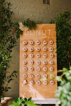 Mia's Rose Gold Garden Party | HOORAY! Mag | First Birthday Party | Donut Wall |