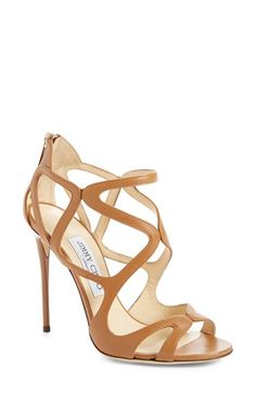 Jimmy Choo 'Leslie' Caged Sandal (Women) available at #Nordstrom