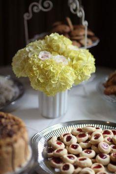 Vintage Garden Wedding by Alison Conklin Bridal Luncheon, Garden Wedding, Breakfast, Vintage, Centerpiece, Photography, Wedding Ideas, Yellow, Glass