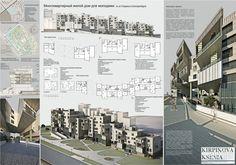 Многоквартирный жилой дом для молодежи: архитектура, зd визуализация, жилье, модернизм, 6-12 эт | 18-36м, 5000 м2 и более, здание, строение, фасад - керамогранит, архитектура #architecture #3dvisualization #housing #modernism #612floors_1836m #5000m2иболее #highrisebuilding #structure #facade_granite #architecture arXip.com