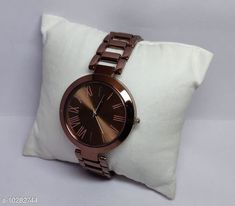 Checkout this latest Watches Product Name: *casual stylish watch for women* Strap Material: Metal Display Type: Analogue Size: Free Size Multipack: 1 Country of Origin: India Easy Returns Available In Case Of Any Issue   Catalog Rating: ★4 (1549)  Catalog Name: Stylish Women Watches CatalogID_1865389 C72-SC1087 Code: 422-10282744-015