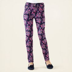 girl - bottoms - floral print jeggings | Children's Clothing | Kids Clothes | The Children's Place