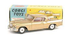 "Mettoy Corgi diecast No.211S Studebaker ""Golden Hawk"""