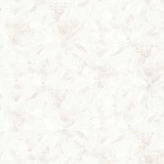 347-64838 Cream Satin Floral - Stafford - Kitchen Bath Resource 3 Wallpaper by Brewster