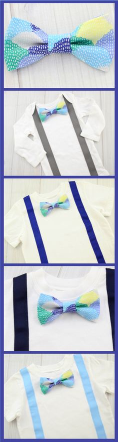 Say hello to your new little boys bow ties
