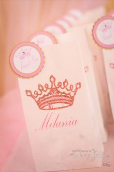 Little Big Company   The Blog: Pink Royal Princess Party for Milania's 1st Birthday by Natalie.