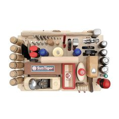 An assortment of basic hand tools for cabinet making and interior work. This…