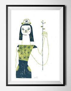 Original Painting - Malota - Mar Hernández - www.malota.es