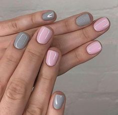 35 super cute summer nail color ideas year 2019 Summer nails,nails design,cool Cute and Beautiful Glitter Nail Designs Ideas For Summer - Pa Ongles Rose Pastel, Trendy Nails, Cute Nails, Cute Nail Colors, Classy Nails, Gel Nail Color Ideas, Elegant Nails, Soft Colors, Pastel Colors