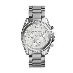 fe11bc48d00e Michael Kors Women s Blair Silver-Tone Watch MK5165 Smartwatch