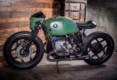 """""""Mi piace"""": 7,317, commenti: 7 - CAFE RACER caferacergram (@caferacergram) su Instagram: """" by CAFE RACER   TAG: #caferacergram   Introducing the 'Greenlight Racer' BMW R80 by @eakkspeed…"""""""