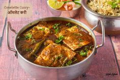 Omelette Curry is an ideal dish for those quick meals when you are in rush and want something quick yet delicious. This thick-gravy egg preparation can be served with Parathas, Phulkas or steamed R… Fried Fish Recipes, Spicy Recipes, Curry Recipes, Egg Recipes, Indian Food Recipes, Cooking Recipes, Ethnic Recipes, Indian Snacks